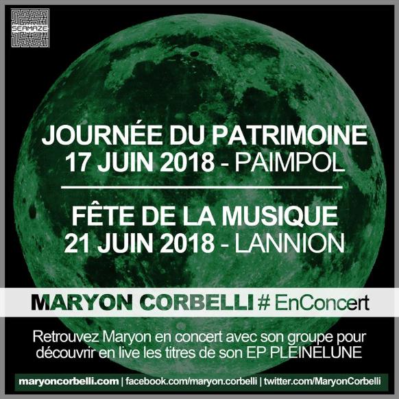 Concerts Maryon Corbelli 2018