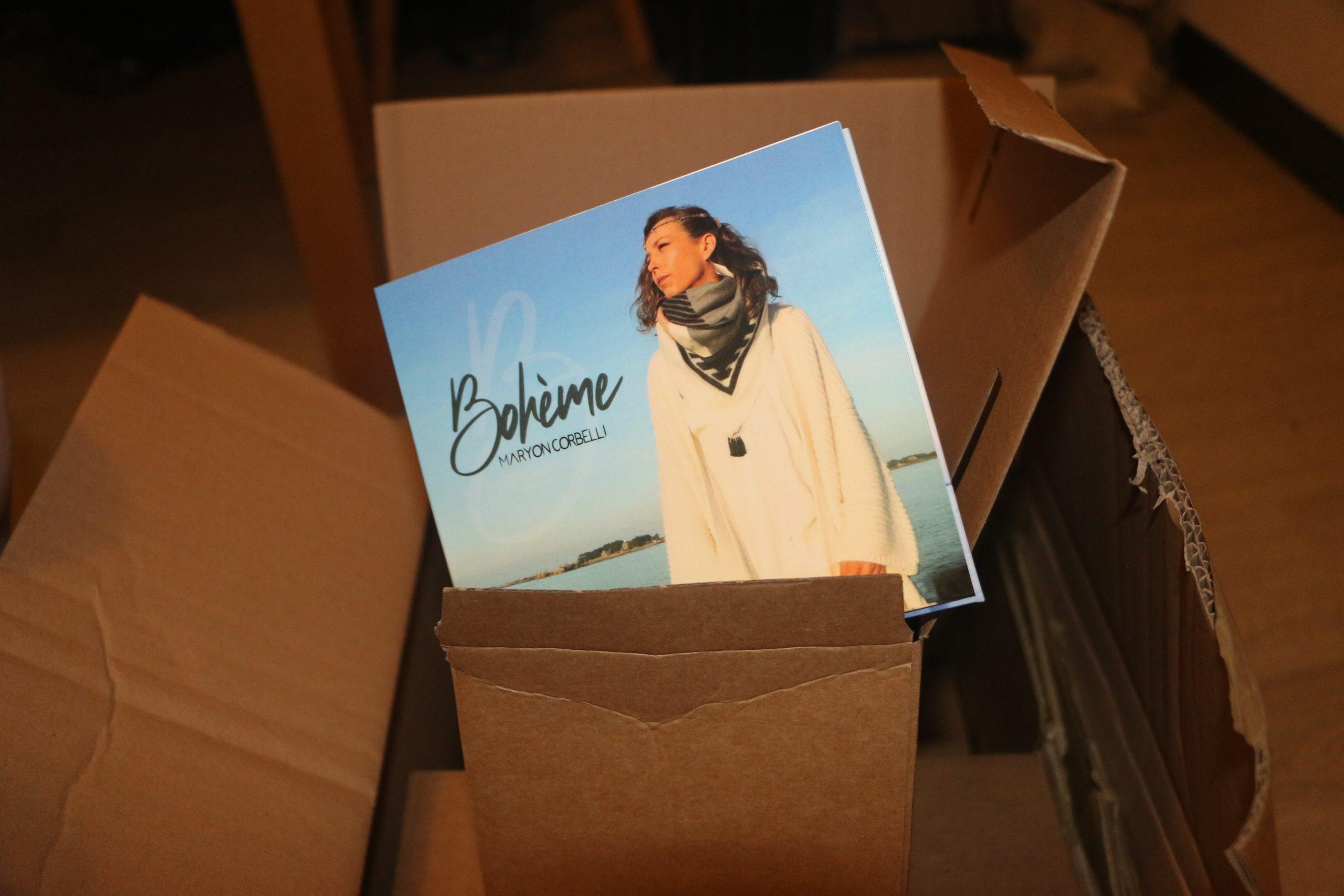 Réception CD Audio - Double album Bohème