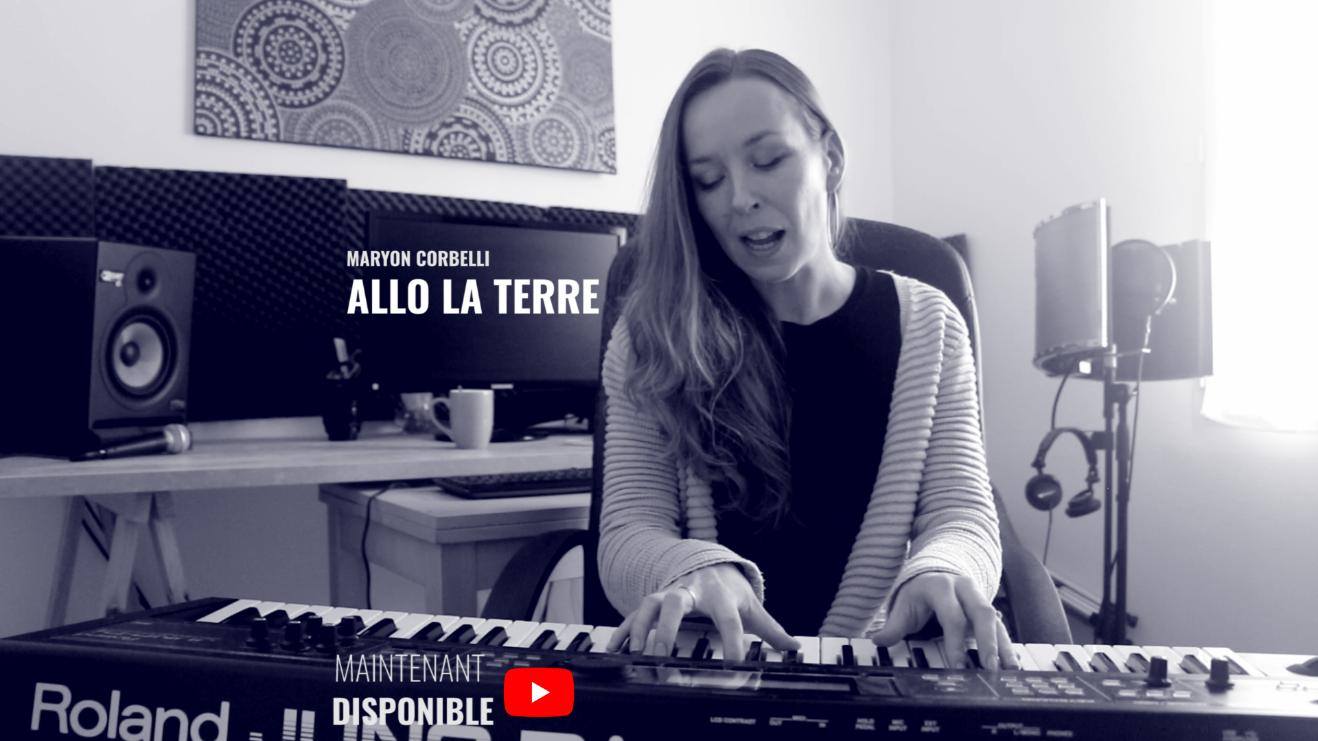 Maryon Corbelli - Allo la terre - Piano Voix