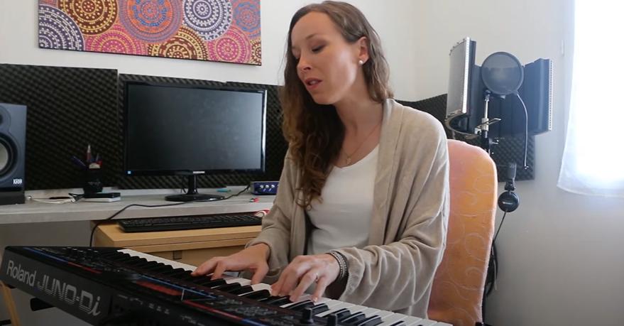 Maryon Corbelli - Reprise Piano voix La casa de papel - My life is going on - Cecilia Krull
